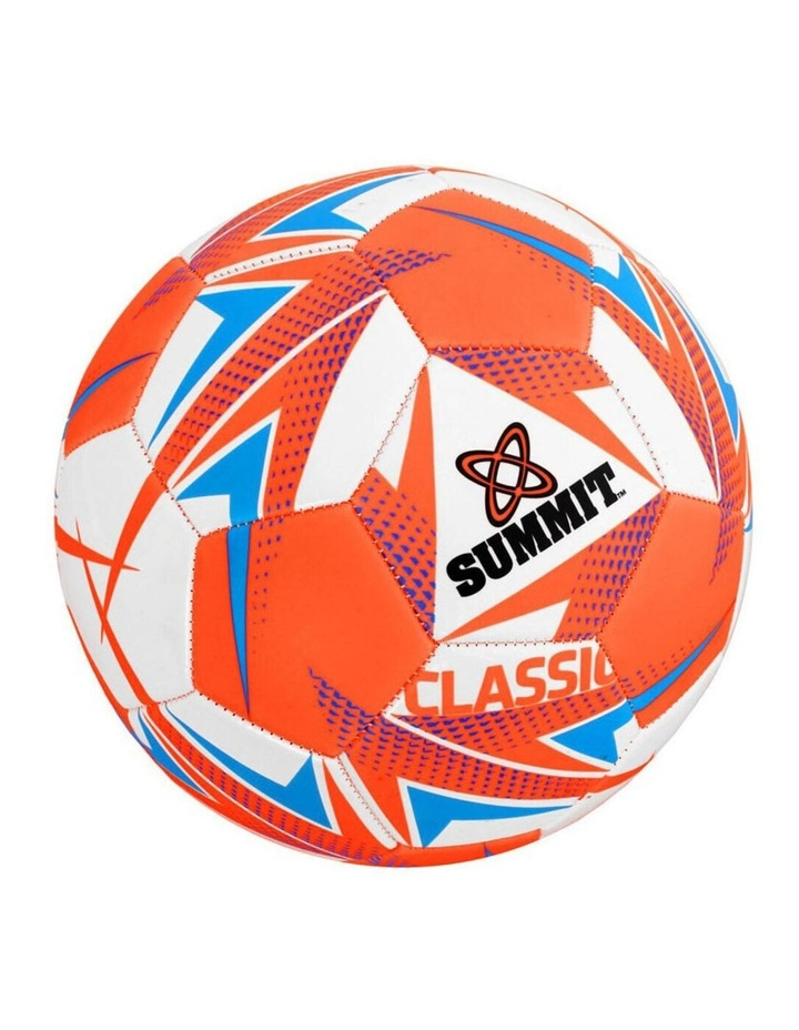 Global Classic Size 5 Soccer Ball/Football Orange Sport Indoor/Outdoor image 1