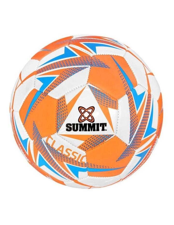 Global Classic Size 3 Soccer Ball/Football Orange Sport Indoor/Outdoor image 1