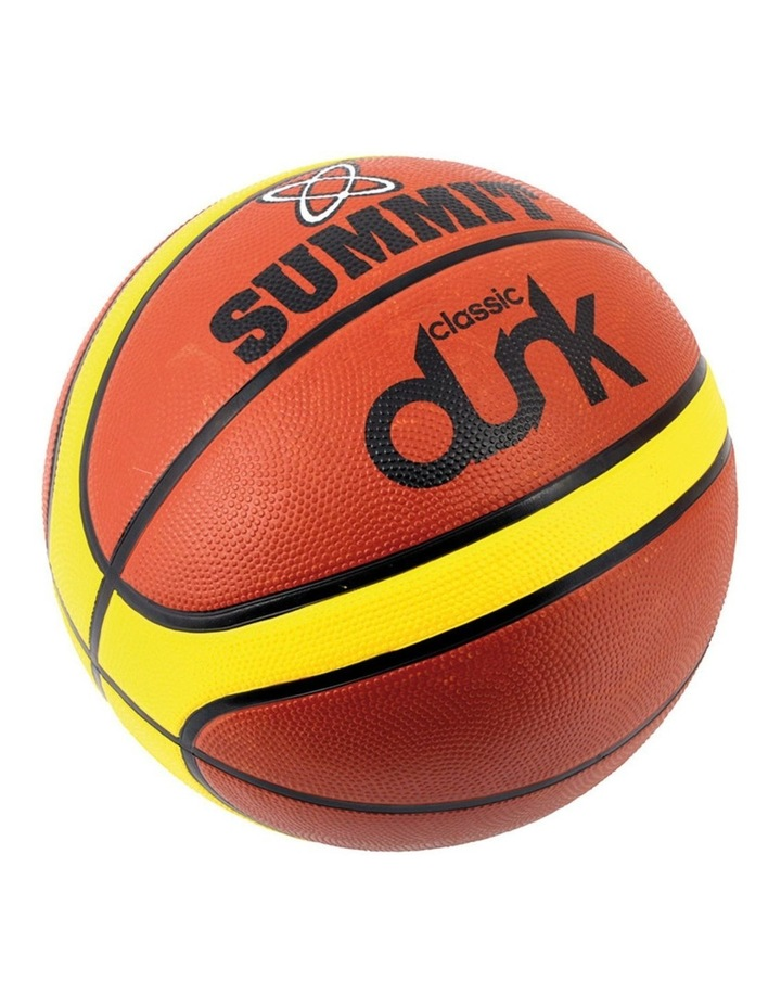 Size 3 Classic Dunk Basketball Indoor/Outdoor Sport/Game Rubber Ball BRW image 1