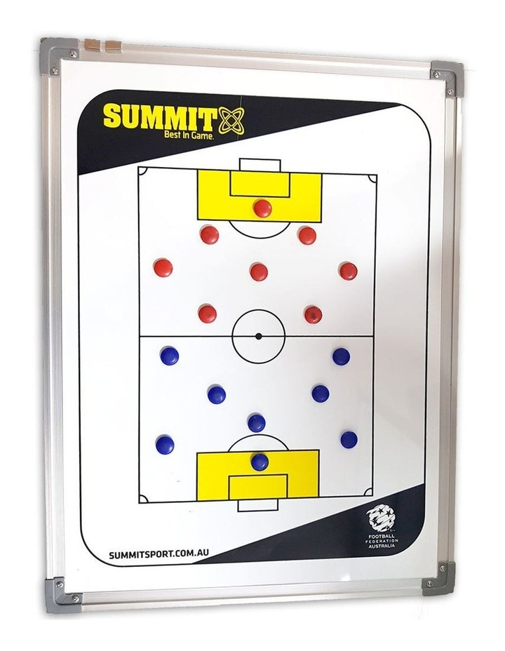 FFA Coaching Board 60cm w/ Magnets/Reversible f/ Soccer/Game Planner image 1