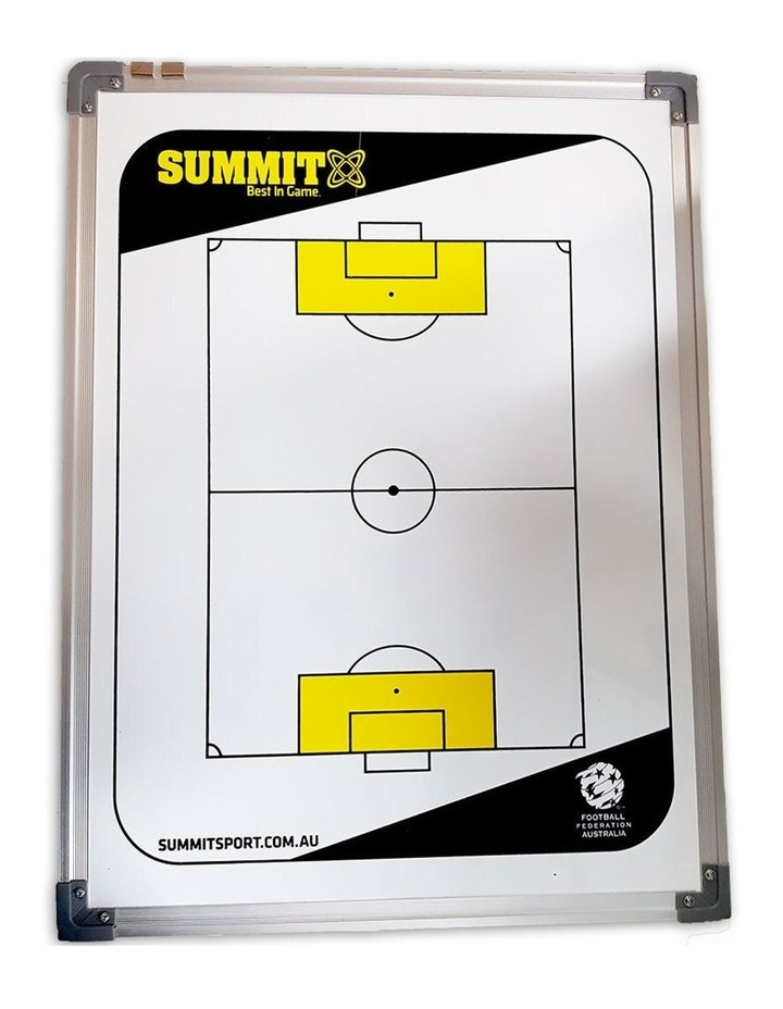 FFA Coaching Board 60cm w/ Magnets/Reversible f/ Soccer/Game Planner image 2