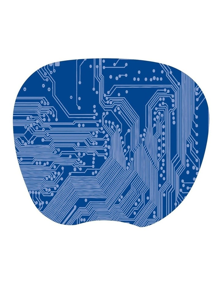 Blue Super Thin Mouse Pad Anti-Slip Desktop Tracking for Computer image 1