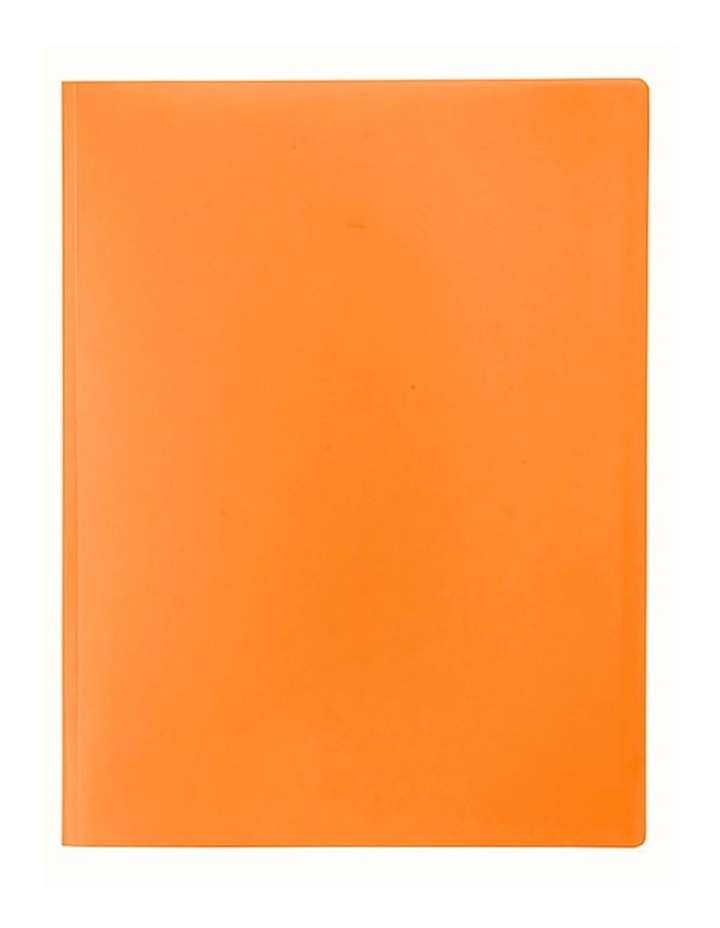 A4 Soft Touch Display Book for Paper/Documents Storage 12 Pockets Orange image 1