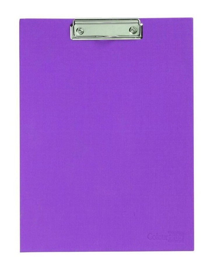 A4 Paper Stand Up Clipboard/Whiteboard Document Writing Board Purple image 2