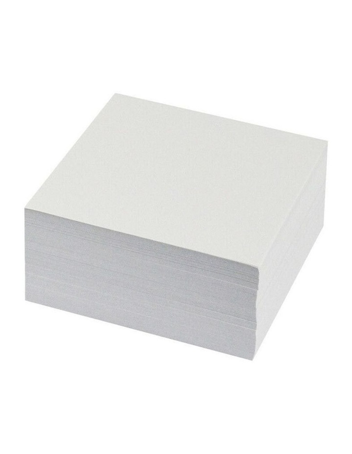 500 Sheets Memo Cube Paper/Notes Refill 95 x 95mm Home/Office Stationery image 1