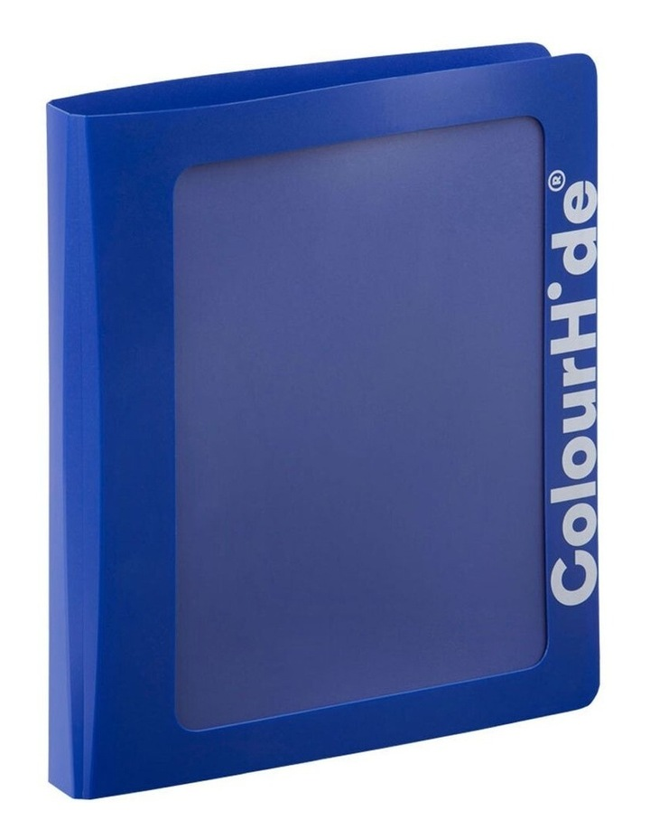 A4 25mm Clearview Binder File/Paper Document Storage Organiser Blue image 1