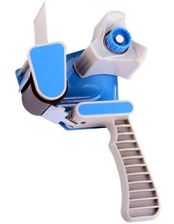 Box Packaging 48mm Sticky Tape Holder Handheld Dispenser Gun w/Cutter image 1