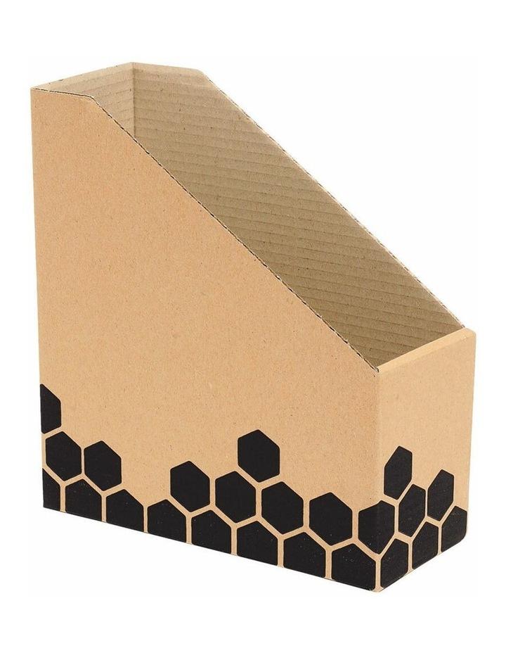 Enviro Magazine/Book File Box/Stand f/ Desk/Home Organiser/Holder/Storage image 1
