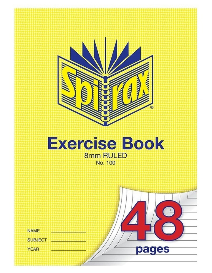 70 GSM 48 Pages A4 8mm Ruled No.100 Exercise Book School Notebook image 1
