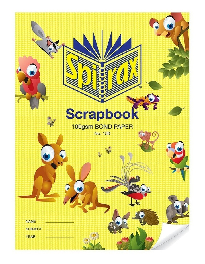 100 GSM 64 Pages Unruled No.150  Bond Paper Scrapbook School Notebook image 1