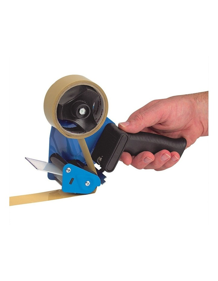 Box Packaging 50mm Sticky Tape Holder Handheld Dispenser Gun w/Cutter image 1