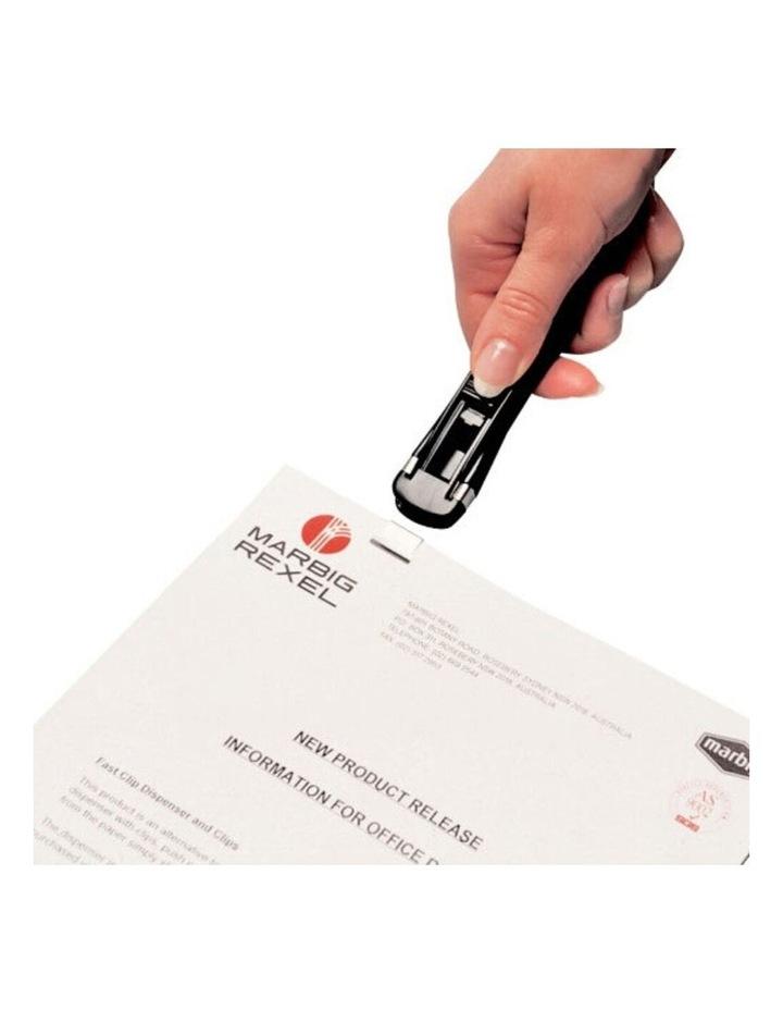 Medium Fast Clip Dispenser Paper Fastener w/ 8 Reusable 16mm Clips Binder image 3