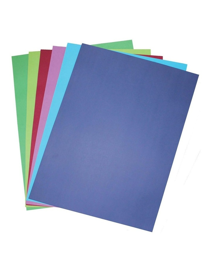 50 Pack A3 Board 200GSM Cool Art/Craft School Paper Assorted Colours image 1