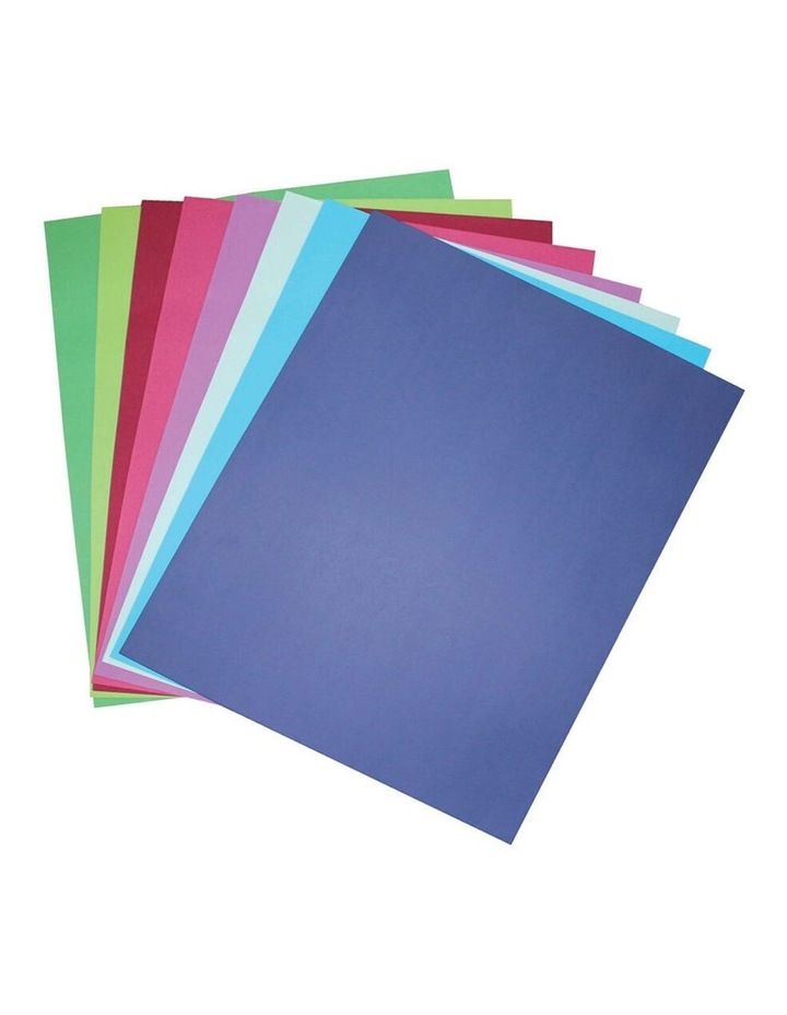50 Pack A4 Board 210 GSM Cool Art/Craft School Paper Assorted Colour image 1