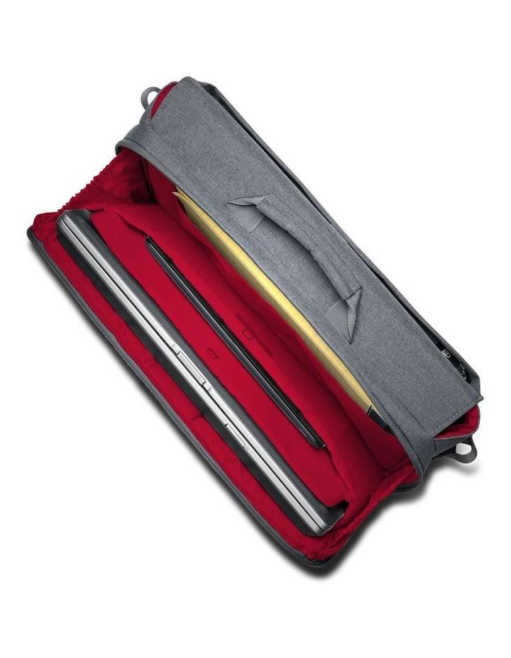 """LM340 Shoulder Messenger Bag 14.4""""/36.6cm Laptop/10"""" Tablet Grey image 3"""