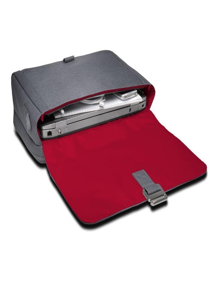 """LM340 Shoulder Messenger Bag 14.4""""/36.6cm Laptop/10"""" Tablet Grey image 4"""