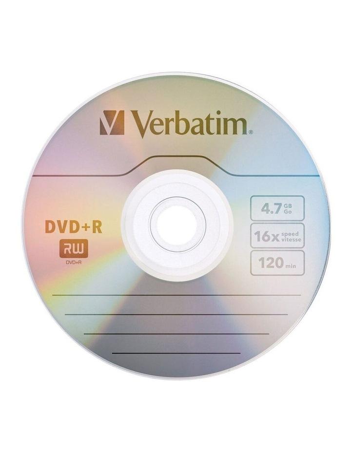 5PK Verbatim DVD R 4.7GB 16x Speed/120min Blank Discs Data/Media Storage w/ Case image 2