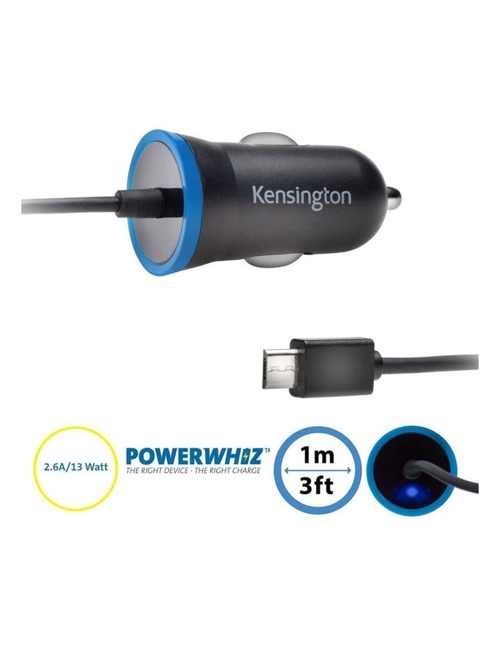 PowerBolt 2.6A Fast Charge Micro USB Car Charger for Android/Samsung image 1