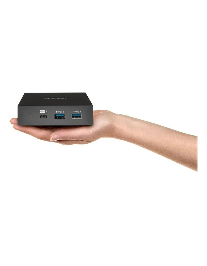 USB-C 4K Nano Laptop Dock w/USB/HDMI/Display Port f/Window/Mac/Chrome image 3