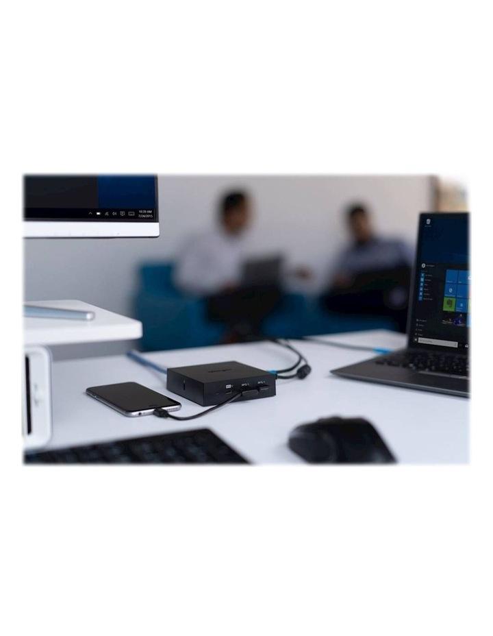 USB-C 4K Nano Laptop Dock w/USB/HDMI/Display Port f/Window/Mac/Chrome image 4