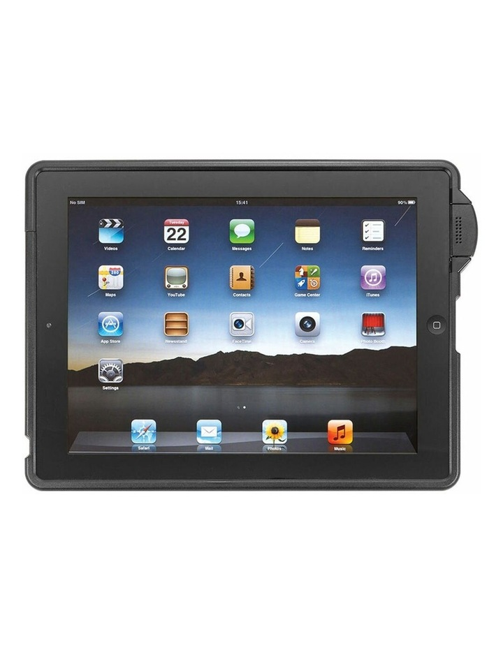 Mountable Security Enclosure Case Protective Cover for iPad 2/3/4 BLK image 1