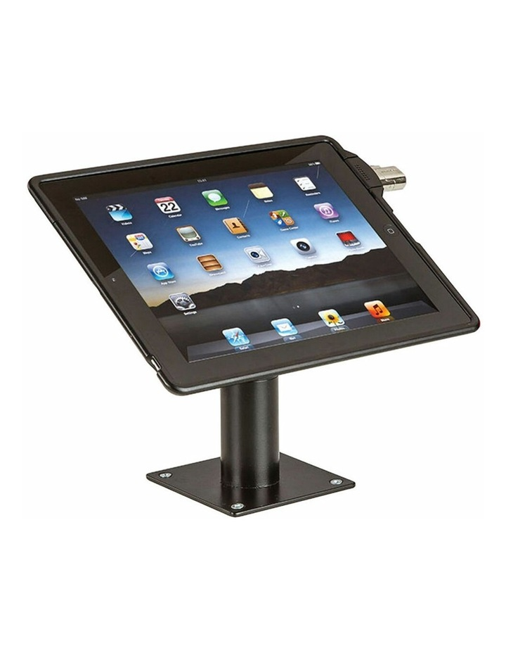 Mountable Security Enclosure Case Protective Cover for iPad 2/3/4 BLK image 3