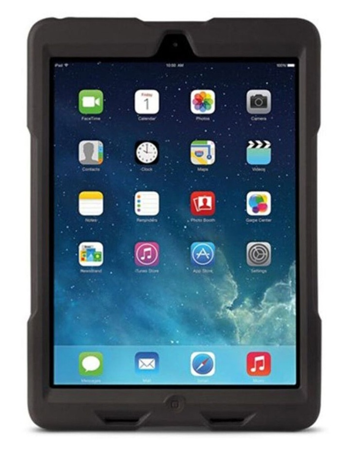 Black BlackBelt 2nd Degree Rugged Case w/ Stand/Strap for iPad Air image 2
