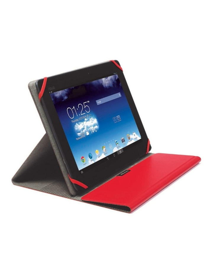 "Red Comercio Fit Folio/Sleeve Case Protector for 9-10"" Tablets/iPad image 1"