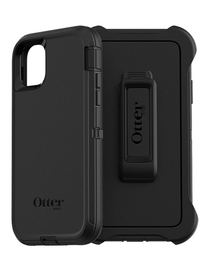 Defender Case Mobile Protective Rugged Cover for Apple iPhone 11 Black image 1