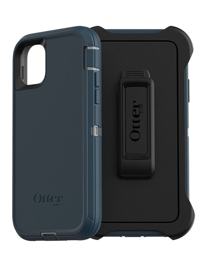 Defender Case Rugged Mobile Cover for Apple iPhone 11 Gone Fishin Blue image 3