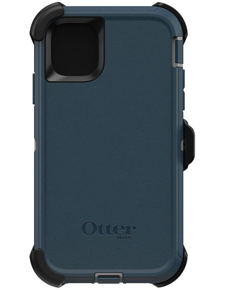 Defender Case Rugged Mobile Cover for Apple iPhone 11 Gone Fishin Blue image 5