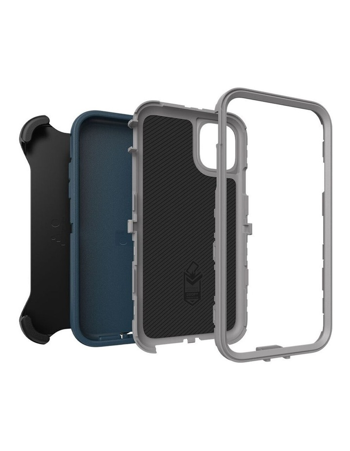 Defender Case Rugged Mobile Cover for Apple iPhone 11 Gone Fishin Blue image 7