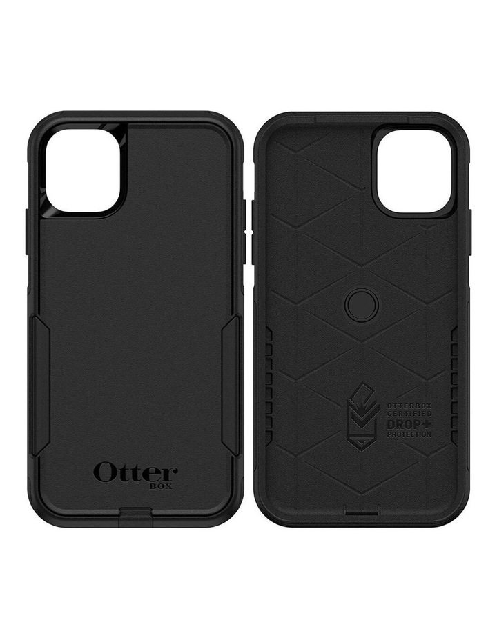 Commuter Case Protective Mobile Rubber Cover for Apple iPhone 11 Black image 1