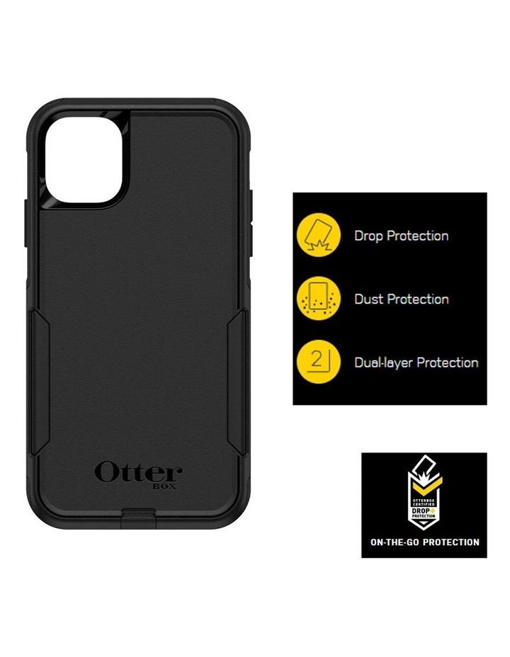 Commuter Case Protective Mobile Rubber Cover for Apple iPhone 11 Black image 4