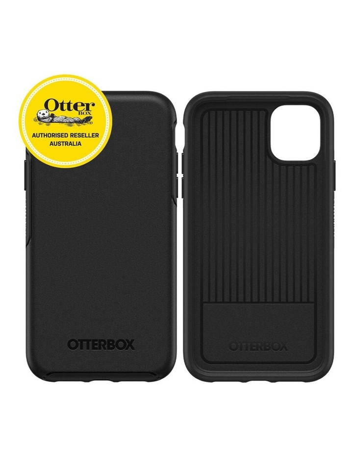 Symmetry Case Protective Mobile Rubber Cover for Apple iPhone 11 Black image 2