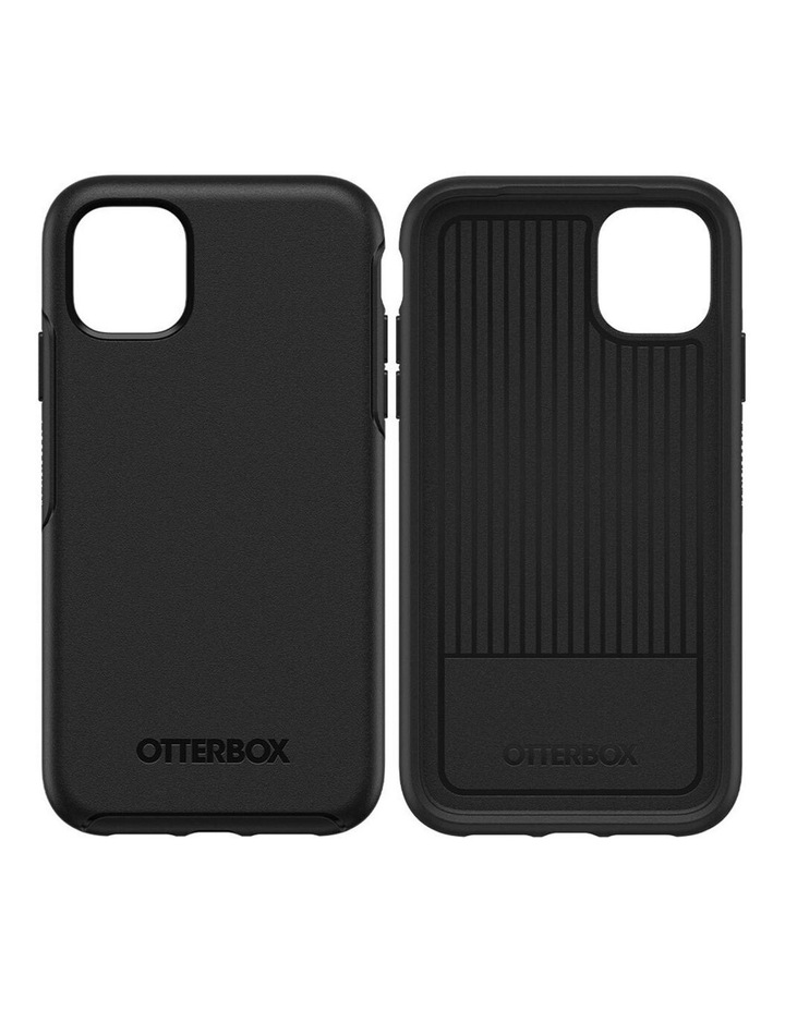 Symmetry Case Protective Mobile Rubber Cover for Apple iPhone 11 Black image 3