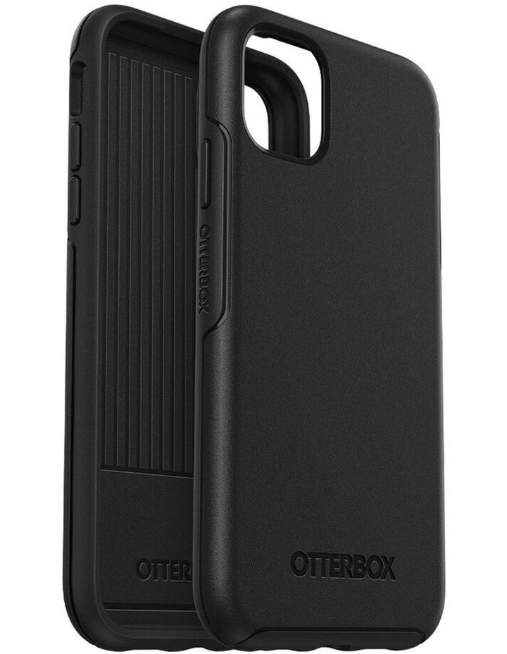 Symmetry Case Protective Mobile Rubber Cover for Apple iPhone 11 Black image 6