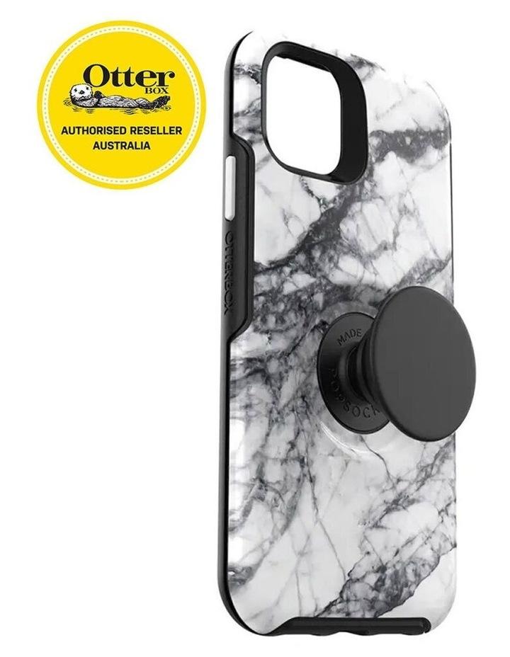 Otter Pop Symmetry Drop Proof Case w/Pop Grip for iPhone 11 Pro White image 3
