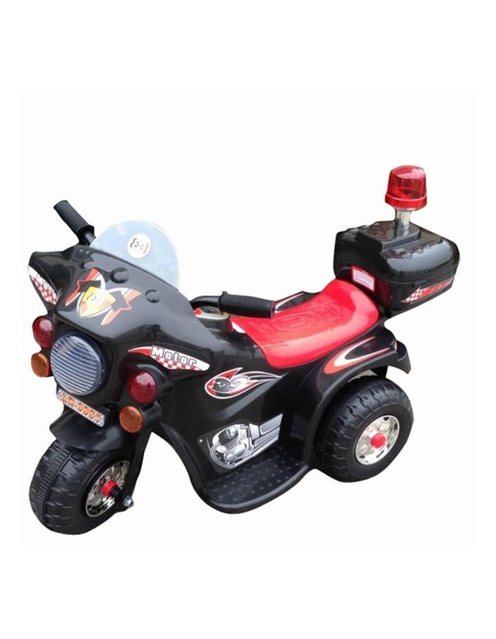 Indoor/Outdoor Black 3 wheel Electric Ride On Motorcycle Motor Trike Kid/Toddler image 1