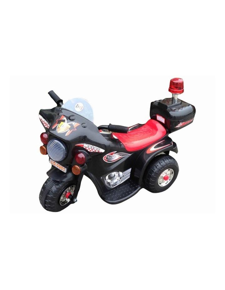 Indoor/Outdoor Black 3 wheel Electric Ride On Motorcycle Motor Trike Kid/Toddler image 2
