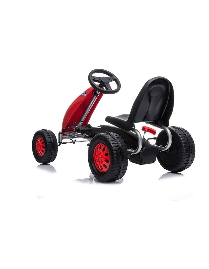 Kids Go Kart Pedal Ride On Children Racing Car Toy Buggy 3 Years   Red image 2