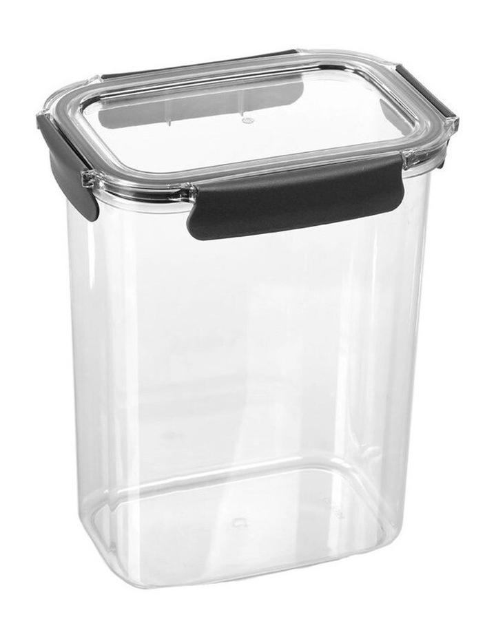 3.7L Crystal Fresh 25cm Plastic Food Container Pantry Storage BK image 2