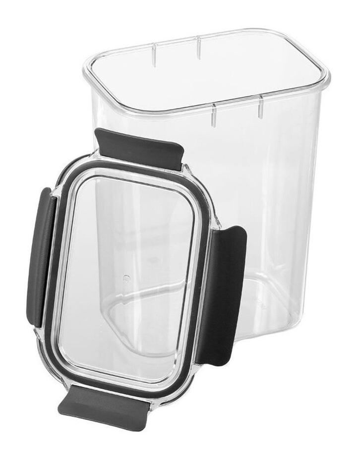3.7L Crystal Fresh 25cm Plastic Food Container Pantry Storage BK image 3