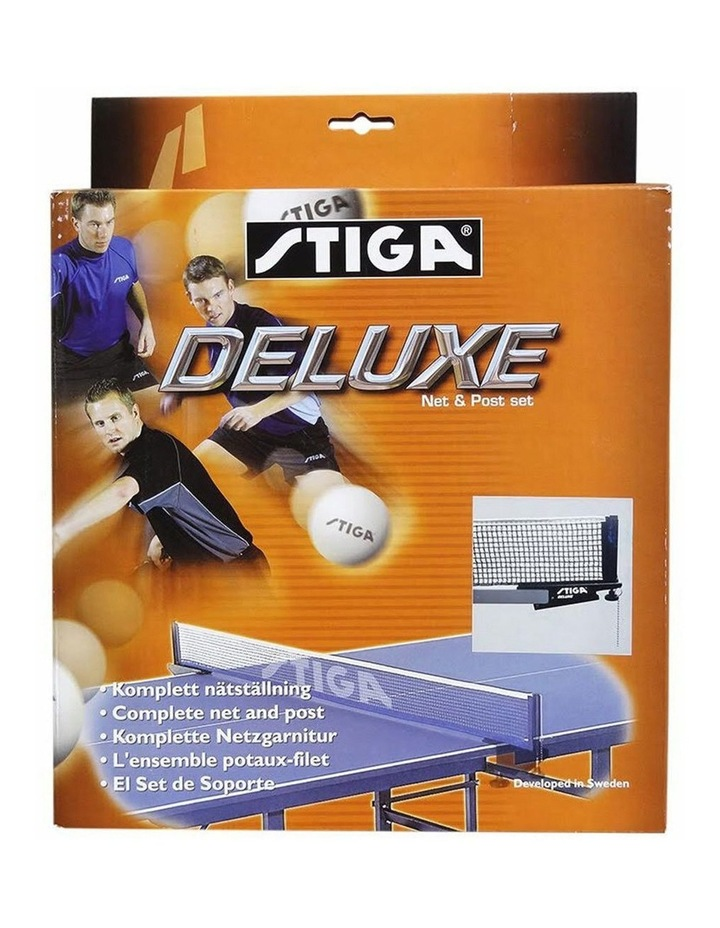Deluxe Net & Post w/ Clamp On f/ Table Tennis/Ping Pong Game Table Set image 1