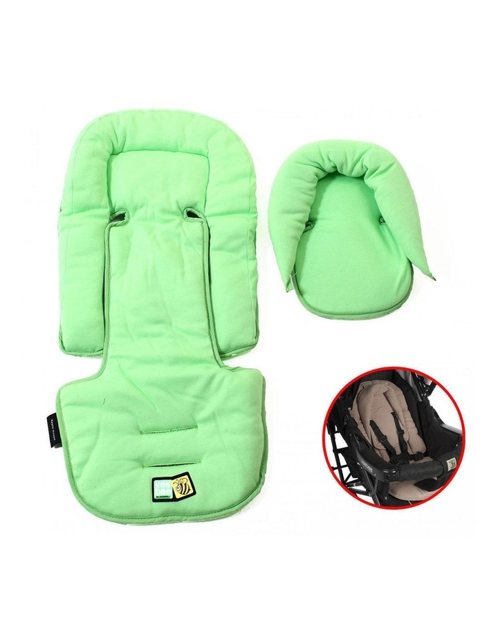 Allsorts Pram Stroller Car Seat Pad Infant/Baby Head/Body Support Green image 2
