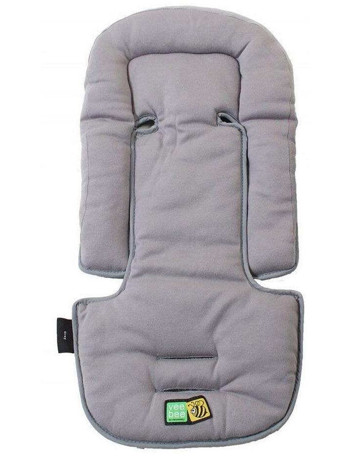 Allsorts Pad Infant Baby Head/Body Support f/Pram Stroller Car Seat Grey image 1