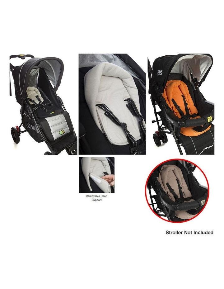 Allsorts Pad Infant Baby Head/Body Support f/Pram Stroller Car Seat Grey image 4