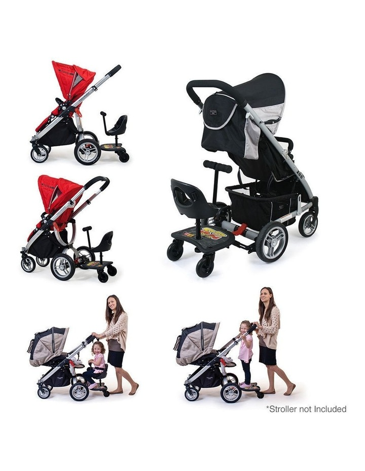 EZ Rider Stand/Sit Toddler Tandem Seat Board Connector for Stroller/Pram image 6