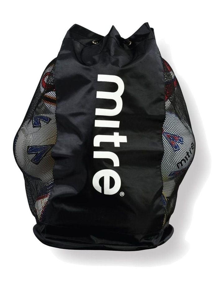 Durable Mesh 12 Ball Carrier/Bag Shoulder Strap for Soccer/Football/Sports image 1