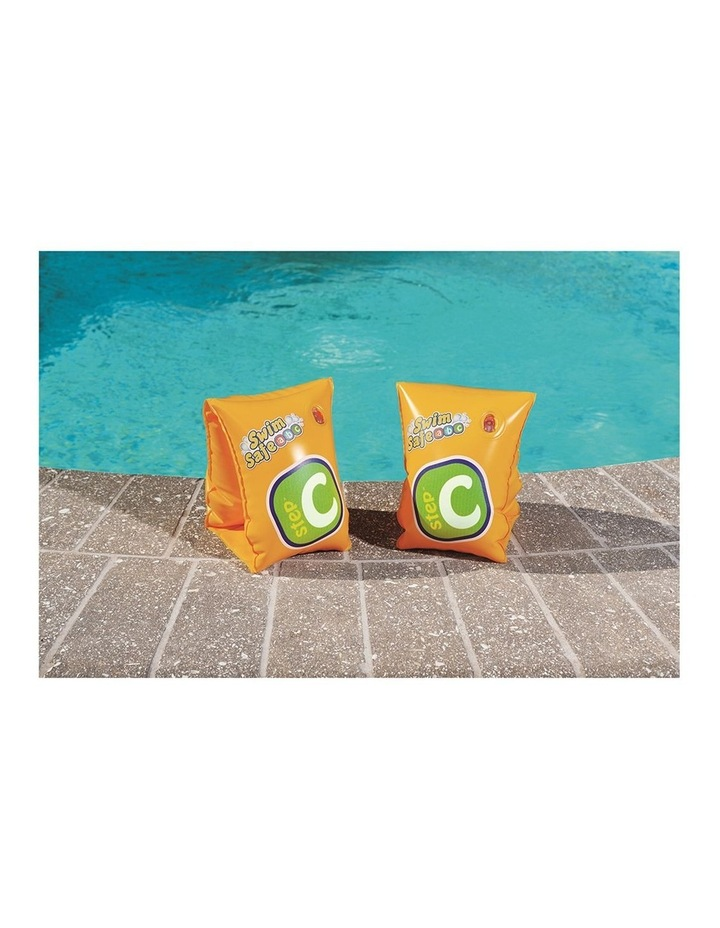 Clark Rubber Armbands Swimming Pool 25x15cm Inflatable Training Floats Kids 3-6y image 3